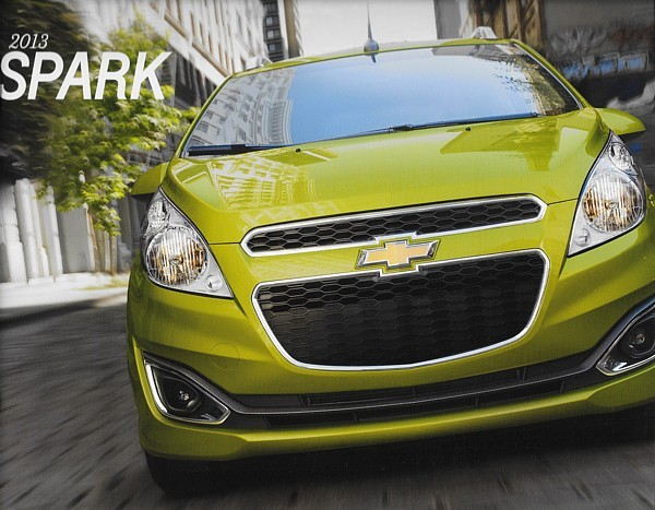 2013 Chevrolet SPARK brochure catalog US 13 Chevy LS LT