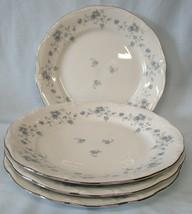 Johann Haviland Bavaria Blue Garland Platinum Dinner Plate, Set of 4  - $40.48