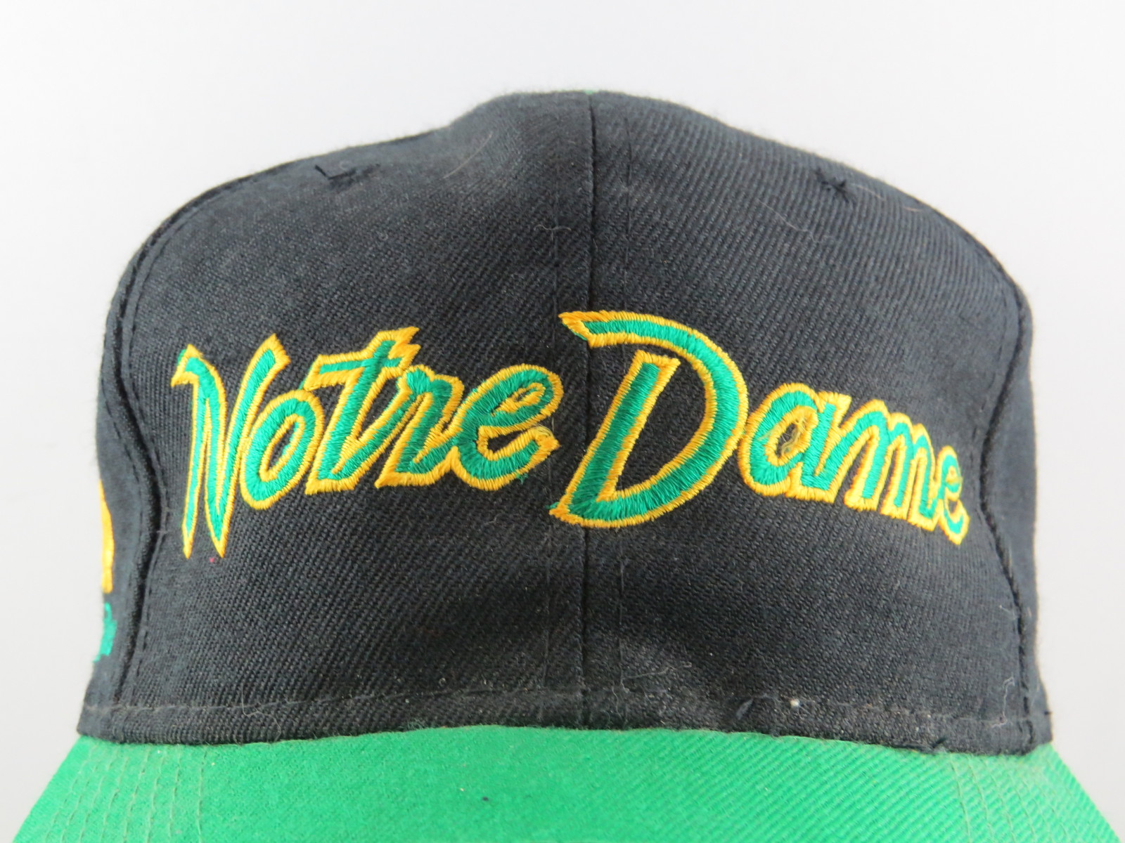 Notre Dam Fighting Irish Hat (VTG) - Wool Script Sports Specialties - Snapback