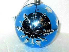 Musical Christmas Ornament WE WISH YOU A MERRY CHRISTMAS  CHRISTMAS IN JULY - $34.45