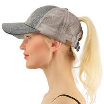 Women Hats Casual Sequin Baseball Cap Round Mesh Sport Outdoor Multicolo... - £7.64 GBP