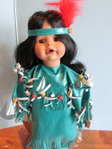 "Seymour Mann Connoisseur Collection doll; ""MORNING STAR""NATIVE AMERICAN,... - $34.65"