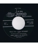 Bobby Darin Theme From Come September 45 rpm Walk Back To Me - $4.74