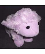 Purple Lamb Sheep Swirl Fur Plush Stuffed Animal Easter Toy Inter-American - $13.84
