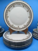 """Lenox Lace Point 6.5"""" Bread And Butter Plates Set Of 7 Plates Excellent ... - $48.02"""