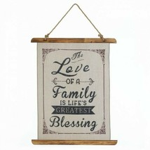 Family Love Linen Wall Art By Accent Plus – Item# 18388 - $18.95