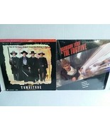 TOMBSTONE AND THE FUGITIVE WIDESCREEN LASERDISKS - FREE SHIPPING - $18.70