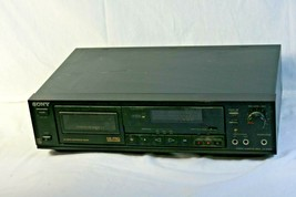 Sony Cassette Deck TC-RX410 Tape Player Recorder HX PRO Peak Meter Auto ... - $69.99