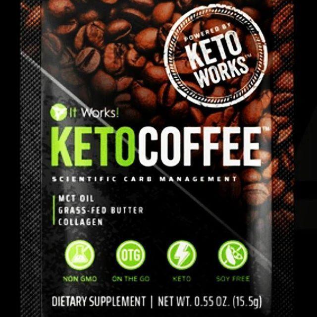 Cravings Itworks Keto Coffee 15 Serving PacketsCravings