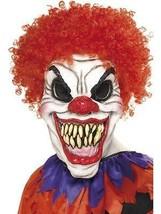 Scary Clown Mask, Foam Latex, Halloween Fancy Dress Accessories, One Size, - $21.46