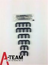 AMC JEEP V8 290 304 343 360 390 401 67-90 8mm HEI SPARK PLUG WIRES RED image 4