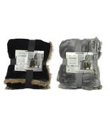 NEW Member Mark Lounge Throw Oversized Reversible Soft Warm Velvet Plush... - $49.99