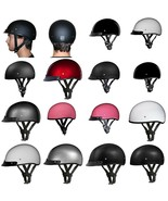 Daytona Biker Helmet, D.O.T. Approved 1/2 Shell Helmets (Skull Cap) - $64.35 - $89.10