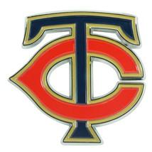Fanmats MLB Minnesota Twins Diecast 3D Color Emblem Car Truck RV 2-4 Day Del. - $15.83