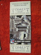 NY Rangers 1995 Stanley Cup Playoffs Finals 4th Round Game 1 Ticket Stub... - $12.38