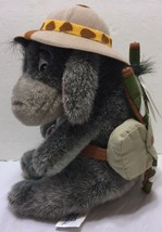 "NWT Disneyland Safari Eeyore 9"" Eeyore Mini Bean Bag Plush Pooh Disney R... - $34.64"