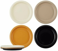 *Skater plate, set of 4 plastic Bonjour made in Japan P5P - $12.05