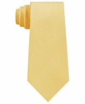 Tommy Hilfiger Men's Textured Solid Silk Tie (Yellow) - $48.93