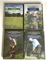 """3-PGA Tour Partners Club Game Improvement DVDs New 1-Master The Rules """"T... - $18.80"""