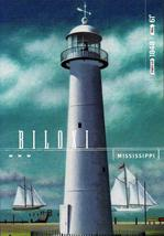 FDC POSTCARD- BILOXI LIGHTHOUSE-GULF COAST LIGHTHOUSES- ARTCRAFT CACHET ... - $2.94
