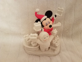 Snowbabies Dept 56 Look What We Have For Mickey 69813 Nib Mint - $48.33