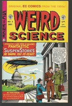 WEIRD SCIENCE #2  EC Comics Russ Cochran 1950's /1992 Reprint VF-/VF HIG... - $10.89