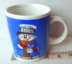 Hershey's Chocolate Cocoa Smores Snowman Campfire Recipe Mug - $12.82