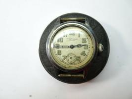 Waltham Premier Wwii 1941-42 Era 9 Jewel Watch Runs For Restoration Stem + Back - $125.78