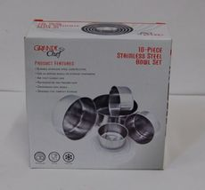 Grande Chef MB725 Stainless Steel Bowl Set 10 Piece Compact Storage image 4