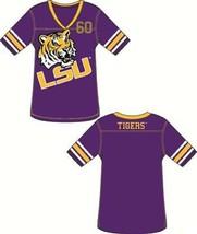 NCAA Louisiana State (LSU) Tigers Ladies' Color Jersey Tunic / Shirt (Sm... - $20.54