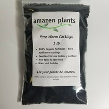 Pure Worm Castings Organic 1 lb Bag. Qty: x 1 or x 2 or x 3 or x 4 Abono... - $14.99+