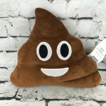 Ankit Poop Emoji Plush Pillow Happy Smiling Stuffed Animal Soft Bedroom Decor - $9.89