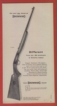 1957 Magazine Ad Print  Browning Arms Co Ad ~.22 Automatic Grade I Rifle - $8.41
