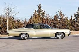 1968 Chevrolet Impala tan side view   24 x 36 INCH   sports car - $18.99