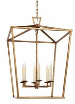 NEW Visual Comfort Darlana Chandelier Lantern Pendant LARGE chic 2176  A... - $965.00