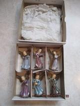 Angel Musicians Set of 6 Vintage Figurines - $14.99