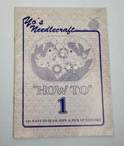 "Vintage Yo's Needlecraft ""How To 1"" Booklet A New Concept to Crocheting ... - $5.49"