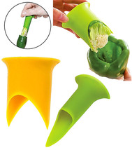 2 Pcs Pepper Corer Tomato Coring Tools Stuffed Jalapeno Bell Rellenos Grill - $8.90