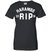 Harambe RIP 2016 Women T-Shirt - $11.95+