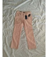 Charter Club Women's Lexington Straight Leg Zippered Mocha Rose Jeans Si... - $37.40