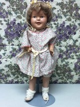 Antique,  18in Painted Face Composition Doll - $66.45