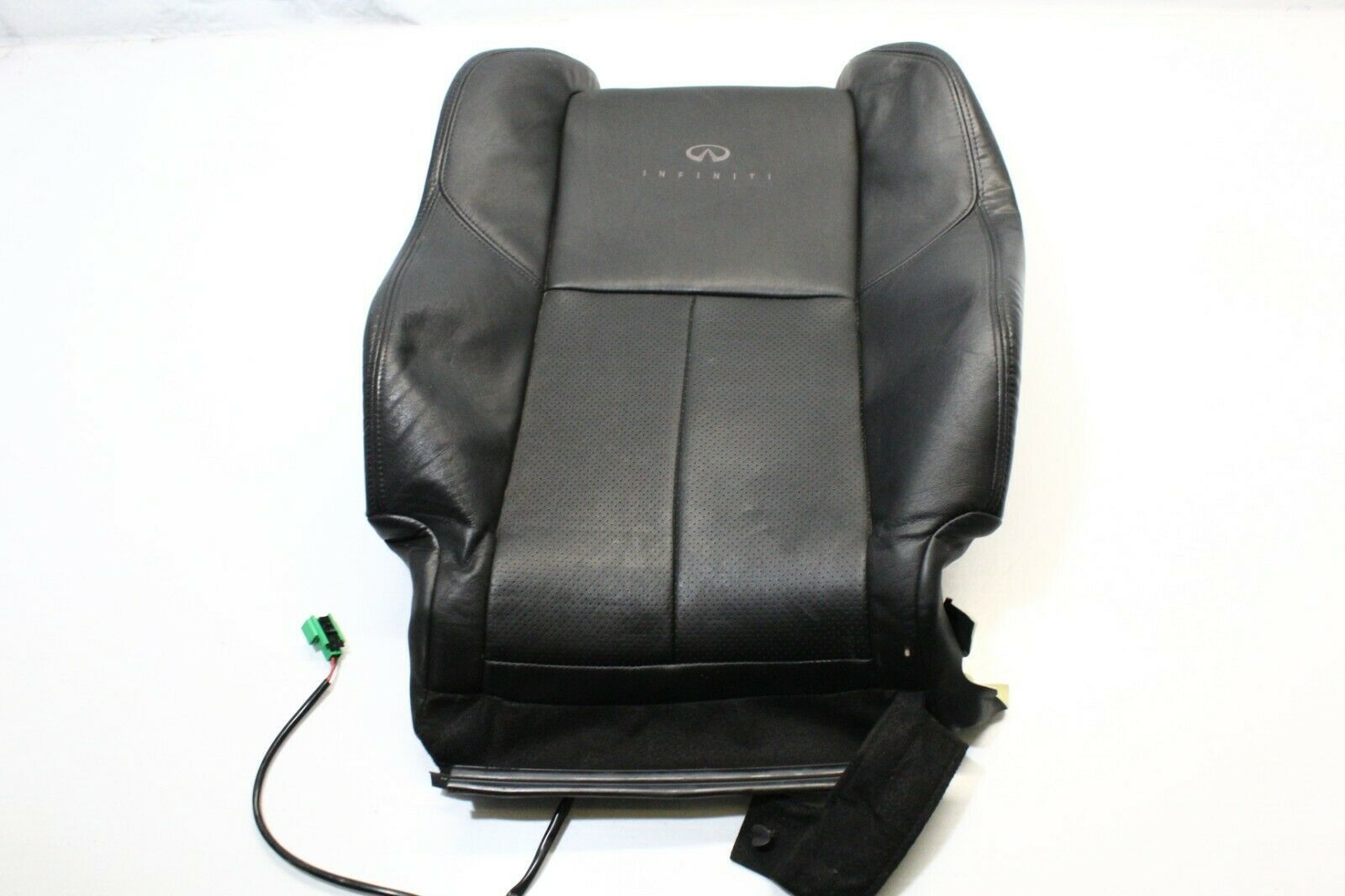 2003-2007 INFINITI G35 COUPE FRONT RIGHT PASSENGER SIDE UPPER SEAT COVER P1666 - $117.60