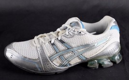 Asics Ahar Gel women's walking running sneakers white gray size 8.5 - $16.61