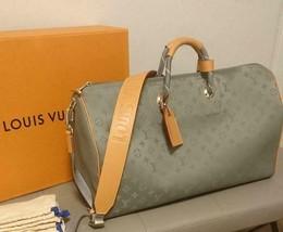 Louis Vuitton Kim Jones Keepall 50 Titanium Travel Bag Hand Shoulder M43... - $3,667.75