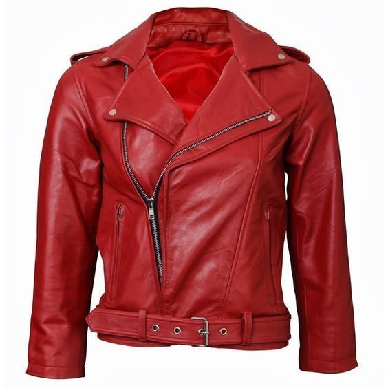 WOMEN BIKER MOTORCYCLE CASUAL SLIM FIT RIDER REAL GENUINE  LEATHER JACKET-A01