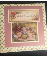 A BABY'S WONDERLAND PHOTO ALBUM BOOK EASTER BUNNY PHOTO ALBUM PETER RABBIT - $20.00