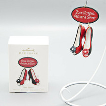 2010 Hallmark Keepsake Ornament Sole Sisters What A Pair! Red High Heele... - $9.99