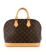 Louis Vuitton Vintage Monogram Alma Satchel Bag with Certificate of Auth... - $855.00