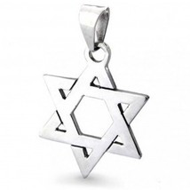 STAR of DAVID Vintage Sterling Silver PENDANT - MEXICO - 2 inches -FREE ... - $37.50