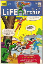 Life With Archie Comic Book #48 First Evilheart, Archie 1966 VERY GOOD+/... - $17.35